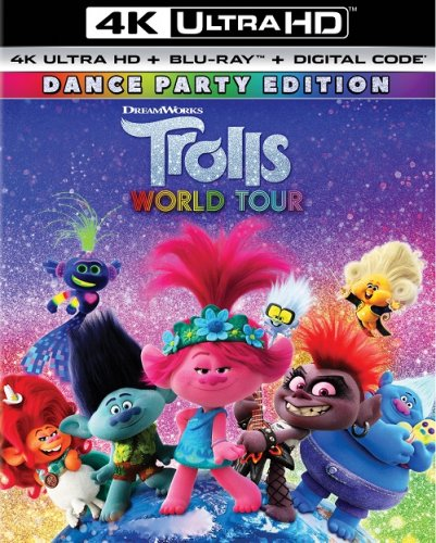 Тролли. Мировой тур / Trolls World Tour (2020) UHD BDRemux 2160p от селезень | 4K | HDR | Лицензия